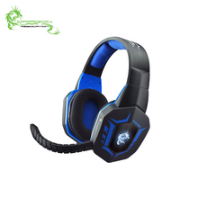 Comfort amazon best seller LED no vibration braided fiber cable big size backlit 2.0 stereo USB wired gaming headphone
