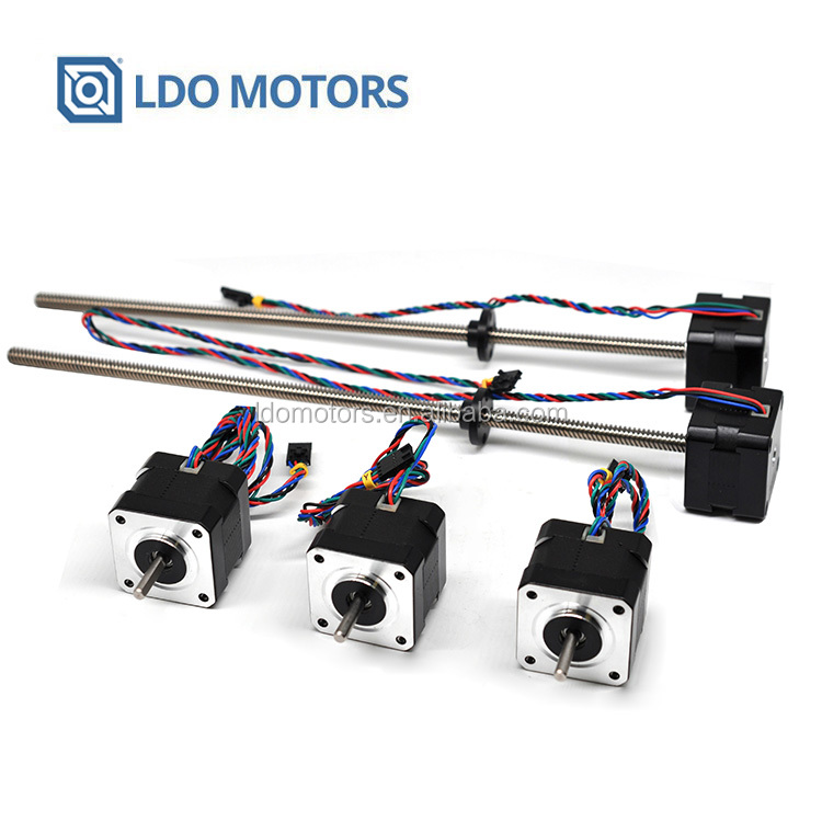 LDO MOTORS MK3/MK2.5 Motor Kits Nema 17 Stepper Motor