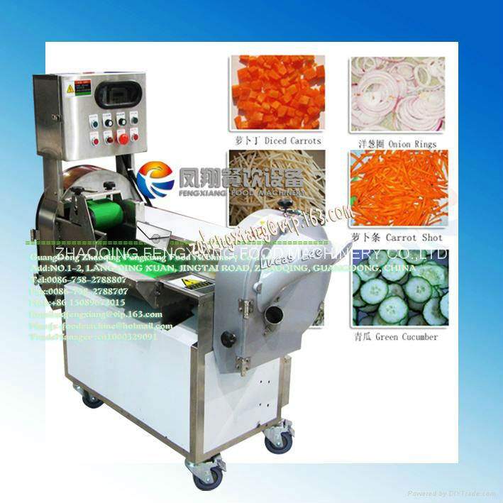 FC-301 Electric Vegetable Cutter Machine (#304 stainless steel, food-grade parts) SKYPE: selina84828