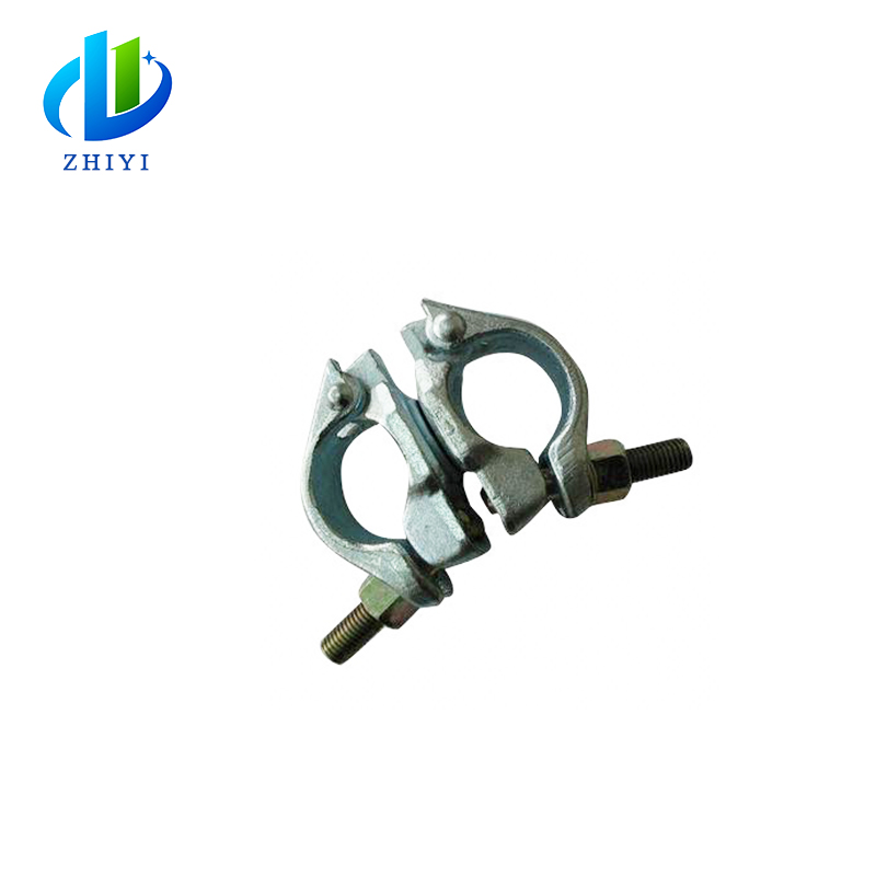 All sizes drop forged double fixed scaffolding casting swivel coupler