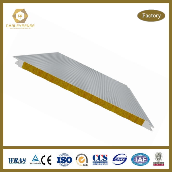 China Supplier Healthy and Eco-friendly Wall Materials Fiberglass Sandwich Panel