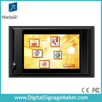 "Touching screen 10"" lcd advertising monitor with IR sensor"