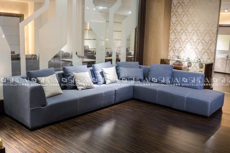 2016 latest new l shaped sofa designs linen fabric sofa for Latest l shaped sofa designs