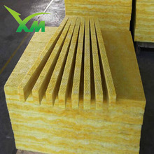 25mm Thick Fiber Glass Heat Insulation Fireproof Glass Wool Duct Board