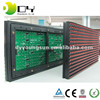 2016 outdoor board module red p10 led screen module