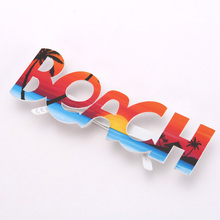 Promotion Product Party Decoration China Wholesale Party Supply Cheap Hot Selling BEACH Letters Shaped Novelty Eye Glasses Frame