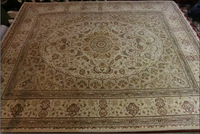High Quality Hand-tufted Persian Area Rugs with 7.75ft *9.75ft in Stock (wool & silk)