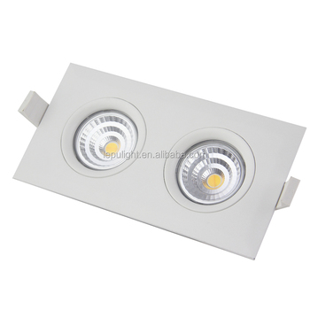 square double downlight led GYRO recessed cob led downlight dimma legrand downlight led anti-glare