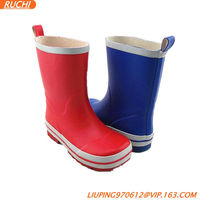 Comfortable and beautiful elegant high heel sexy women rubber rain boots RC1700
