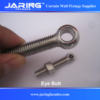 stainless steel 304 316 lifting eye bolt china factory M12 M16 M20