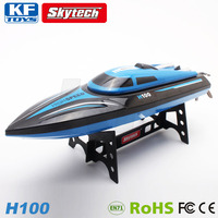Skytech H100 2.4G 4CH remote control RC boat with LCD