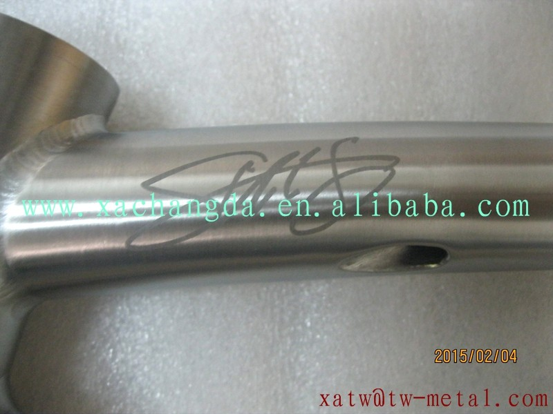 titanium road bike frame inner line titanium touring bike frame innerline routing titanium road bicycle frame 700C