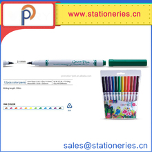 12 colors water colored pen for children drawing