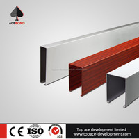 New type hanging suspended aluminium blade ceiling
