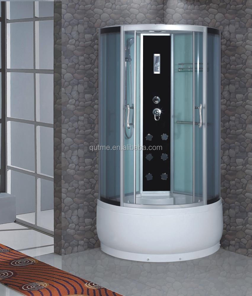 hot sale computer controlled super luxury fiberglass steam shower room
