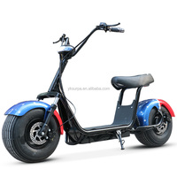 Surpa 1000w60V citycoco/seev/woqu front back shock suspenison fat electric scooter/2 wheel stand up electric scooter