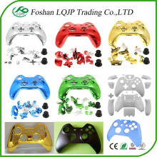 custom chrome plastic matte glossy crystal full shell faceplate for xbox one controller housing shell wholesale