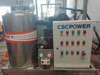 cscpower0.8T~15T/day ice machine price sea-water ice machine