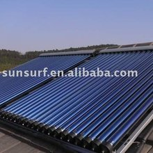 Evacuated tube solar collectors / Heat pipe solar collectors (keymark)