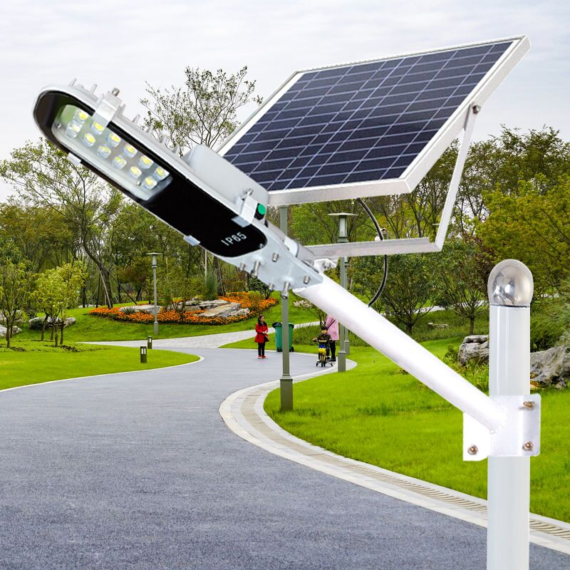 High quality Integrated 15W solar panel lithium battery IP65 10W led street light for rural area