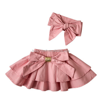 2017 new arrival 100%cotton baby girl's mini skirts,lovely skirt for baby girl