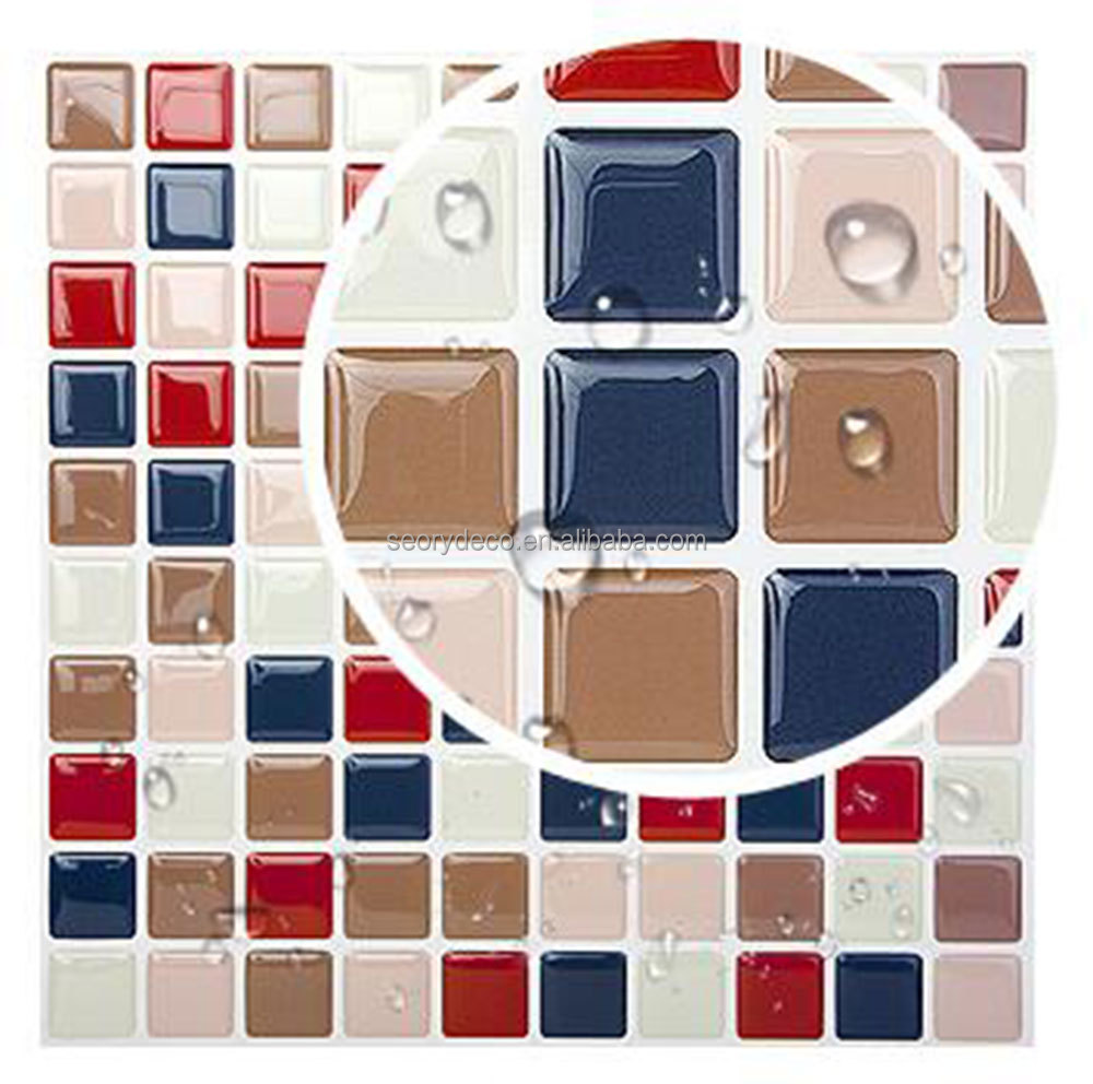 Home projects best choice peel N stick backsplash vinyl wall tiles