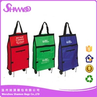 folding carry cart shopping trolley vegetable shopping trolley bag