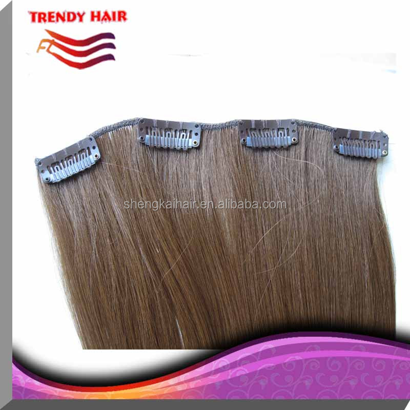 Quality synthetic hair clip in extensions