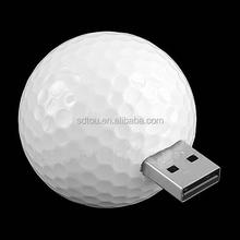 promotional golf ball usb flash drive