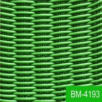 Bright Colour Hand Woven Pest and Fungus-free PE Rattan Material BM-4193