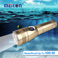 Factory Supply Cheap Price 100 meters Underwater 700 Lumen Aluminum LED Diving flashlight torch