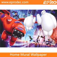 2016 animated cartoon wallpaper for house