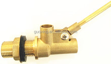 Male Thread mini plastic 1 inch small water tank brass float valve