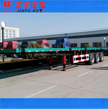 CE STANDARD 12PCS TWIST LOCK CONTAINER FLATBED SEMI TRAILER FOR SALE