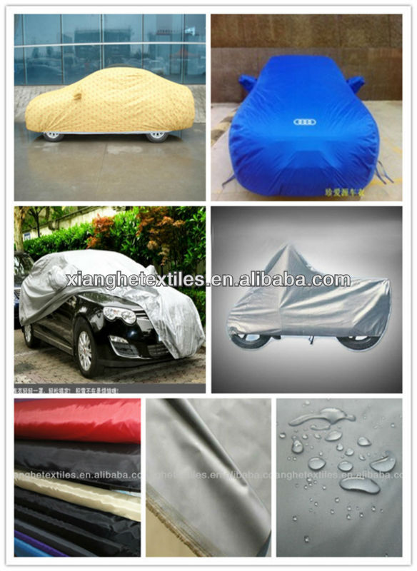 china wholesale taffeta car body cover fabric sun shade for car covers fabrics polyester fabric waterproof taffeta