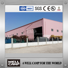 WELLCAMP factory supply steel prefabricated warehouse in Qatar project 2