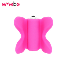 Online hot sell handheld butterfly massager sex toy for girl pussy and anal massage