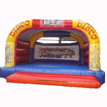 hot sale Adults / Kids Disco inflatable bounce house supplier