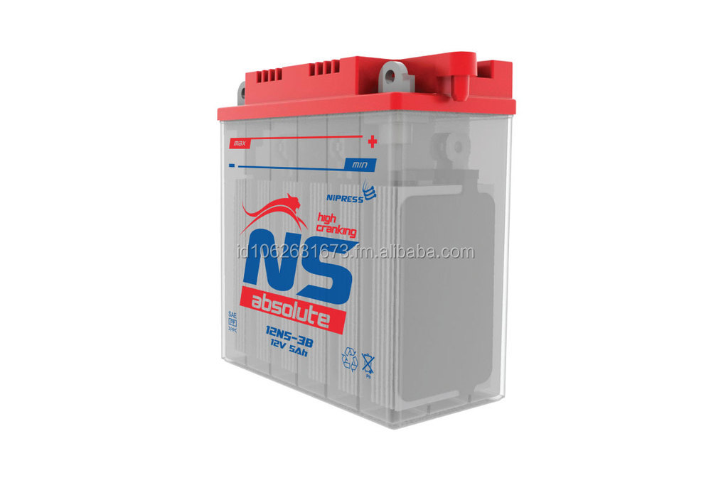 NS Absolute Dry Charge 2W Battery