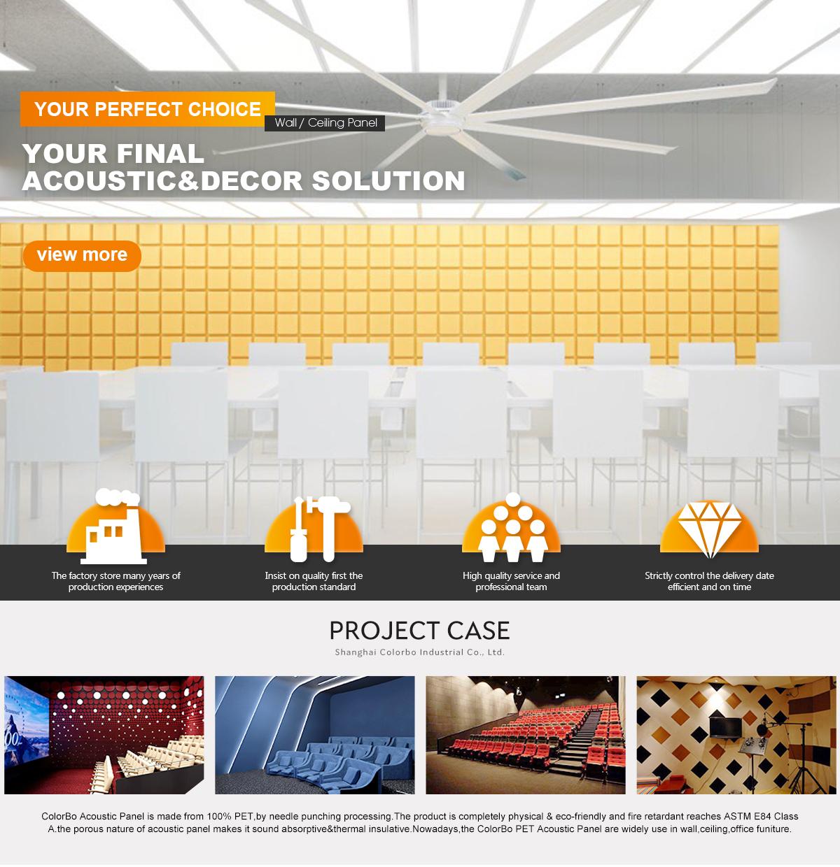 Shanghai Colorbo Industrial Co., Ltd. - wood wool acoustic pane ...