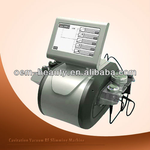 Latest technology cavitation tripolar multipolar bipolar rf slimming machine/ ultrasonic weight loss F019