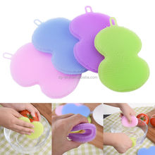 Newest calabash shaped cleaning product brush cleaning fruit and vegetable cleaning brush