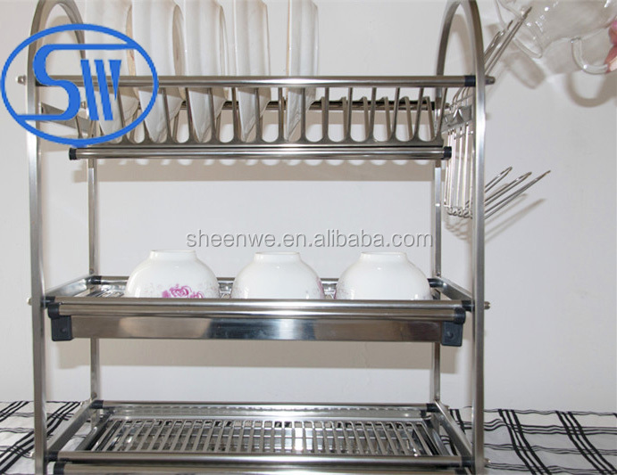 Kitchen Bowl And Plate Rack Buy Stainless Steel Kitchen Storage