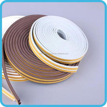 High visible decorative rubber seal door strip