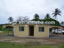 Family Living Prefabricated House Buildings/Steel Villa