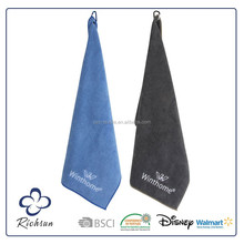 Custom Golf Towels with Grommet and Hook