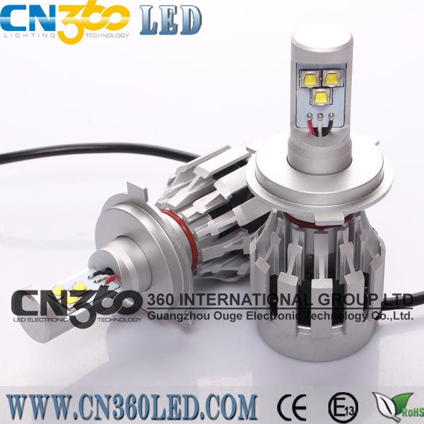 NEW long lifespan car H4 LED headlight for honda city headlights