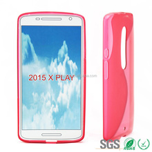 Fashion Mobile Phone S Line TPU Case for Motorala X Play from China Supplier