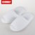 amenities for 5 star hotels waffle slippers open toe white slipper