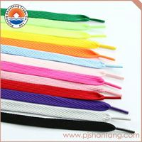 New coming good quality custom polyester shoelace from China workshop